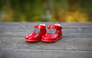 Red shoes are a symbol of international FASD Awareness Day