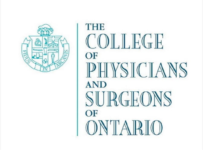 Former Board Chair Appointed Medical Advisor of the College of Physicians and Surgeons of Ontario