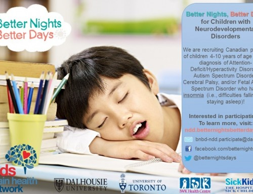 Better Nights, Better Days for Children with Neurodevelopmental Disabilities (BNBD-NDD)